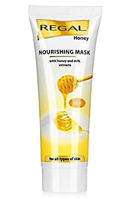 NOURISHING MASK with honey and milk extracts for all types of skin by Regal