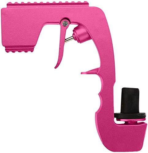 FXBFAG Champán Bubbly Blaster Gun Tapón de vino Champán, dispensador de vino de champán, botella de cerveza, eyector de alimentación para boda, fiesta, club nocturno barra herramienta (color rosa