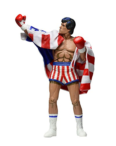 NECA Rocky 1987 Video Game Appearance 17 cm Fig.