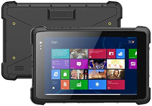 Escáner de código de barras de mano Windows 10 SO ROGIDO SISTRIENTE Tablet PC con pantalla táctil IPS de 8 pulgadas, 2GB + 32GB Intel Cherrytrail Z8350 Quad Core@1.44GHz 2.0MP + 5.0MP Cámara HDMI WIFI