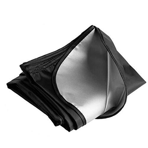 Cubierta de coche universal Coche Sombrilla Sun Shade Windshield Frontal Ventana trasera Película Cubierta de visera UV Protección Reflector Protector de estilo de automóvil completamente impermeable