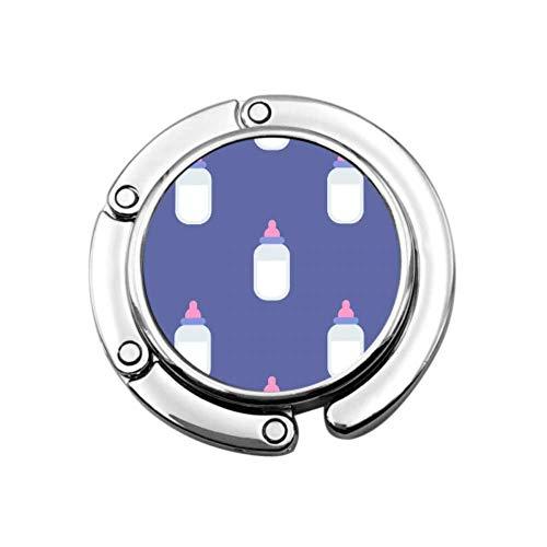 Colgador de Bolsa de Limpieza de Botella de Leche de Agua para bebé Kawaii para niños y niñas Colgador de Monedero diseños únicos Colgador de Mesa de Almacenamiento de sección Plegable