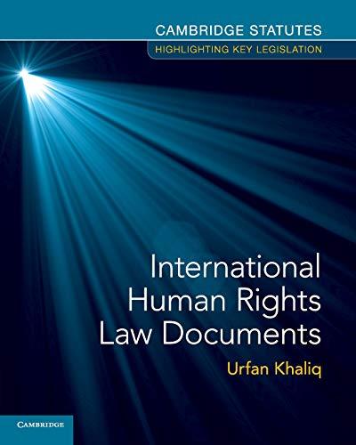 International Human Rights Law Documents