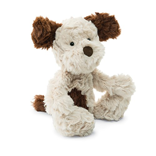 Jellycat Squiggle Puppy Stuffed Animal, Small, 9 inches