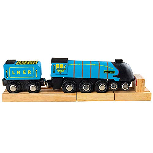 Bigjigs Rail Collection Patrimoine Locomotive Mallard