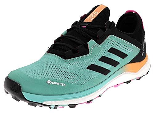 adidas Terrex Agravic Flow GTX W, Scarpe da Trail Running Donna, MENACI/NEGBÁS/ROSCHI, 38 EU