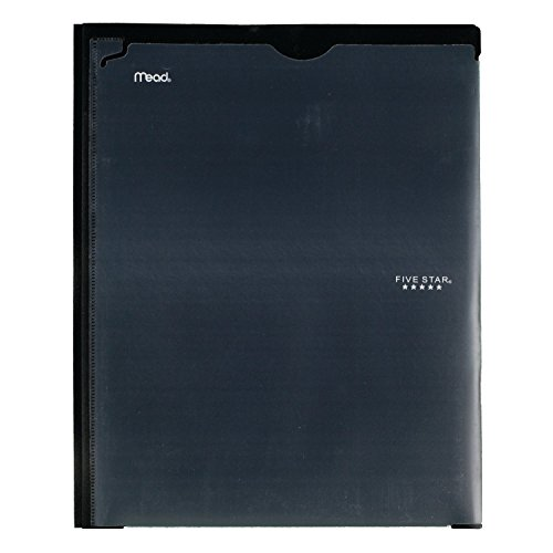 Five Star 2 Pocket Folder with Prong Fasteners, Folder with Pockets, Customizable Cover, Plastic, Color Selected for You, 1 Count (34136) Photo #5