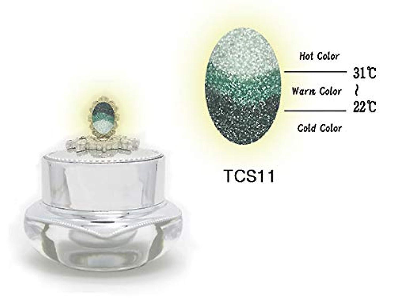 序文デザイナー近くKENZICO (ケンジコ) Triple Sugar Gel プロ用5g 【TCS11】 3つの色に変わる夜光ジェル トリプルシュガージェル