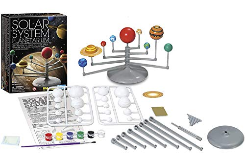 4M 3427 Solar System Planetarium - DIY Glow In The Dark Astronomy Planet Model Stem Toys Gift for Kids & Teens, Girls & Boys Multicolor, 1 EA