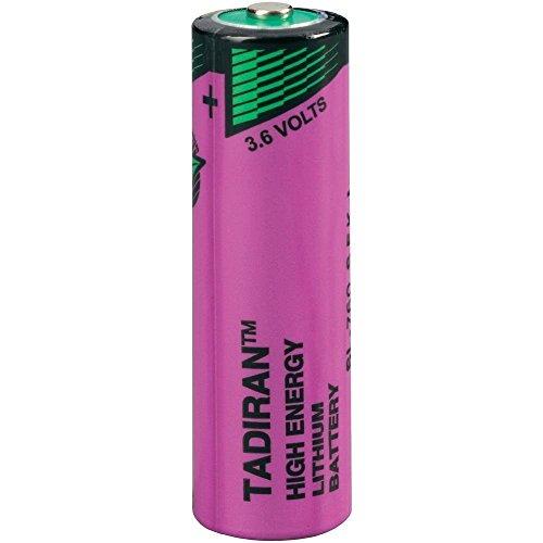 Tadiran SL-760S Lithium Inorganic 3,6 Volt Batterie nicht wiederaufladbar
