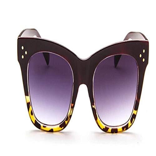 Gafas De Sol Polarizadas Gafas De Sol Clásicas De Ojo De Gato para Mujer, Gafas De Sol Graduadas De Gran Tamaño Vintage, Gafas De Sol De Diseñador Mujer Uv400 C6
