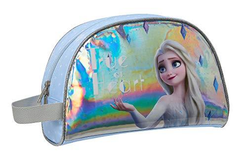 Safta 812015824 Neceser, Bolsa de Aseo Adaptable a Carro Frozen II