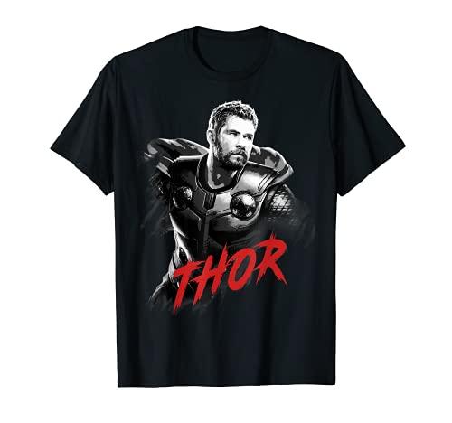 Marvel Avengers Endgame Thor Tonal Portrait Camiseta