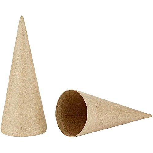 Creativ Styroporkugeln, 20 cm, 5-er Packung, Pappmaché