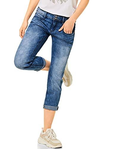 Street One Damen Jane Jeans, Summer Blue Heavy wash, W30/L26