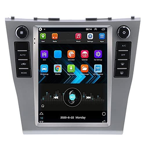 Navegación GPS para automóvil de 9.7 pulgadas Reproductor de pantalla táctil MP5 Radio estéreo WiFi Manos libres Bluetooth 1 + 16GB para Android 10.1 Compatible con la mayoría de las marcas de automóv