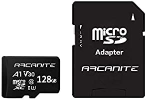 【Amazon.co.jp 限定】アルカナイト(ARCANITE) 128GB microSDXCカード UHS-I U3, A1, V30, 4K, C10, SDアダプター付 - AKV30A1128