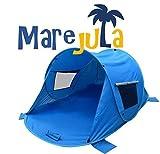 Pop Up - Refugio Tienda (Mare jula Family UV 60 +; Protección Solar Para Toda La Familia,...