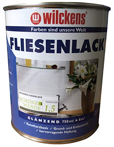 Wilckens Fliesenlack Anthrazitgrau glänzend 750 ml