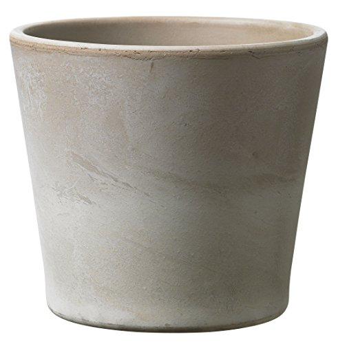 Soendgen Keramik Blumenübertopf, Dover, sandgrau, 25 x 25 x 24 cm, 0650/0025/2031