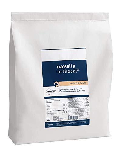 NAVALIS Nutraceuticals Orthosal Amino 20 Horse Nachfüllpack, Kilogramm:5.0 kg