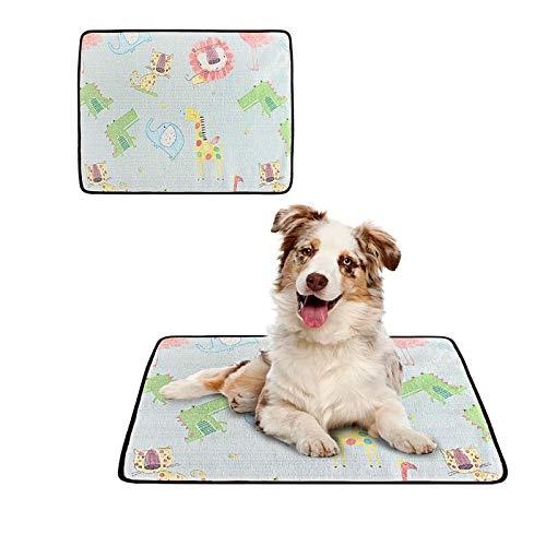 Dlovey Pet Cooling Mat Pad, Pet Self Cooling Mat Für Hundekatze Cool Halten,...