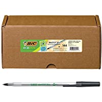 144-Count BIC Ecolutions Round Stic Ball Pen