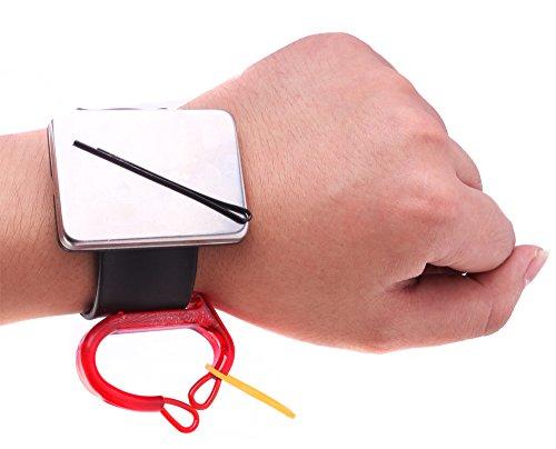 Bracelet magnétique Bobby pour pinces à cheveux, épingles à cheveux, bracelet support pour épingles, support pour élastiques avec bandes en caoutchouc
