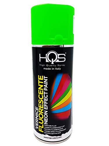 Quattroerre Vernice Spray HQS Verde Fluo 400 ml