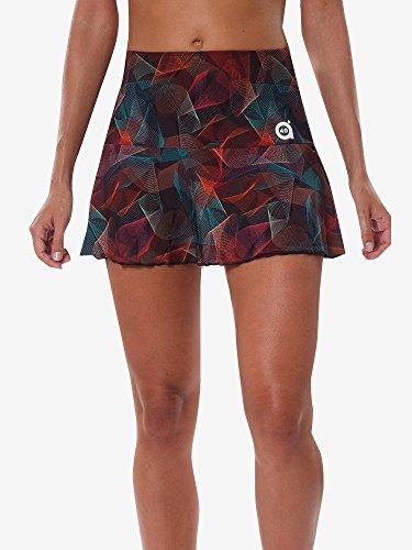 A40Grad Sport & Style, Lena Rock, bedruckt, Damen, Tennis und Padel (Paddle), Bedruckt, 42 L