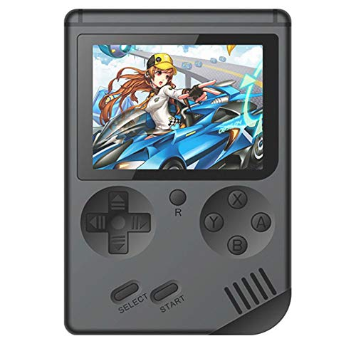 Classic Nostalgia Game Console, Anytec Handheld Game Console 3 Inch Screen with 168 Games FC TV Output Game Player Best Birthday Christmas Present for Kids