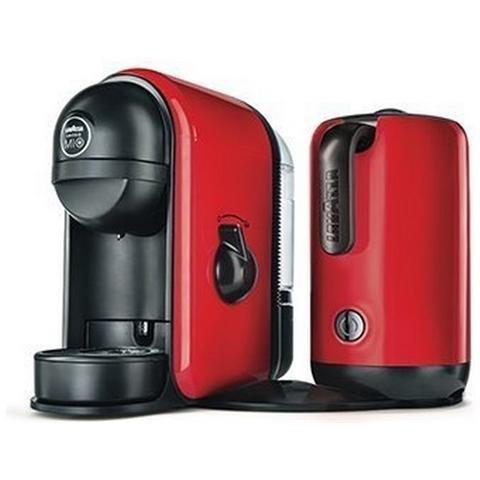 Macchina per Caffè Lavazza MINU' CAFFELATTE per Capsule capacità della tanica 0,5L di colore Rosso