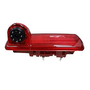 Car Brake Light Rear View Camera Vauxhall Vivaro Renault Traffic CCD Reverse Camera HD Night Vision Waterproof