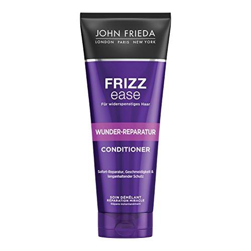 John Frieda Frizz Ease Wunder Reparatur Spülung/Conditioner - 2er Pack (2x 250 ml) - repariert trockenes, hitzegeschädigtes und widerspenstiges Haar