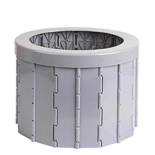 Adore store Aseo portátil Plegable, WC con Orinal para IR al baño de Coches, Cubo del Inodoro para Acampar, de Edad Avanzada