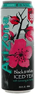 Arizona Black & White Tea, 23.5000-Ounces (Pack Of 24)