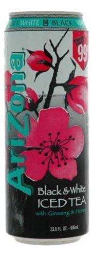 Arizona Black & White Tea, 23.5000-Ounces (Pack Of 24)