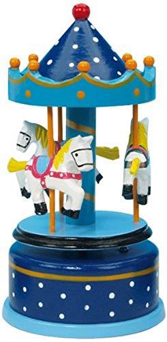 Spieluhrenwelt 16002 Carrousel 170 mm-Bois-Bleu