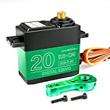 Yahboom 20KG Digital Servo Full Metal Gear High Torque Servo Motor for RC Model DIY Waterproof Control Angle 180° DS3218MG