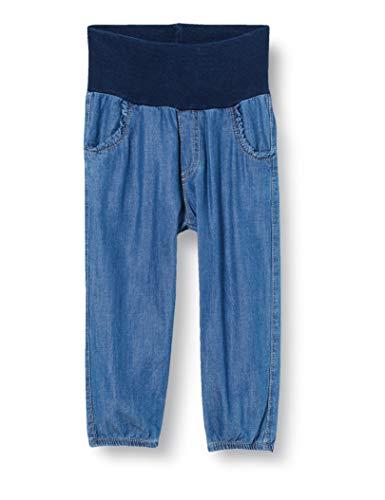 Bellybutton mother nature & me Baby-Mädchen Hose Jeans, Blau (Light Blue Denim Blue 0014), (Herstellergröße:68)