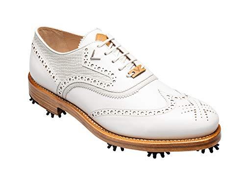 Callaway Herren Classic Wing S Golfschuhe, weiß 20, 42.5 EU