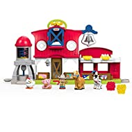 Fisher-Price Little People is an educational farm animals set featuring Farmer Jed and his farm animals figures; these toys for toddlers help children to learn about farm animals With these fun farm animal toys, children can press the discovery butto...