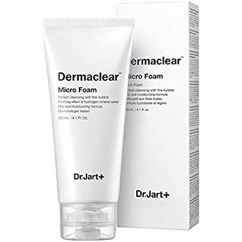 Dr. Jart+ Dermaclear Micro Foam Facial Cleanser Deep Moisture Foaming Cleanser And Deep Cleansing, 120ml