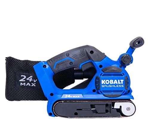 Kobalt Kobalt 24V MAX 24-Volt Brushless Cordless Belt Sander (Bare Tool)