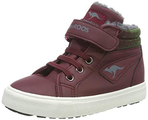 KangaROOS Unisex Baby KAVU III Sneaker, Violett (Dk Berry 6006), 24 EU