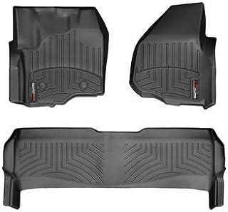WeatherTech (444331-443052 FloorLiner, Front/Rear, Black