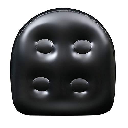 Bestine Aufblasbarer Whirlpool-Sitz, Kissen mit Saugnapf, ausgestattet mit Netz, wasserdicht und rutschfest, für Erwachsene und Kinder