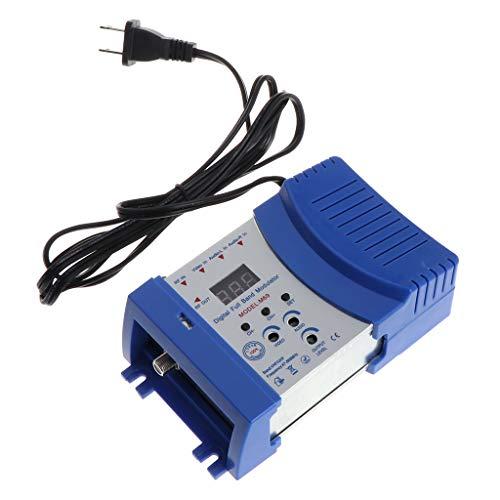 JunYe Auto RF Modulator Audio Video TV converter RHF UHF signaalversterker US/EU stekker - EU