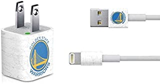 Skinit Decal Other Skin for iPhone Charger (5W USB) - Officially Licensed NBA Golden State Warriors Distressed Design