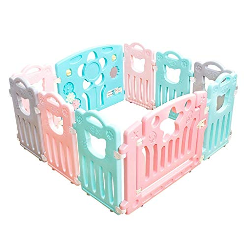 Fantastic Deal! HWZQHJY Playpens for Babies Fall Prevention Safety Fence Easy Installation (Size : 1...